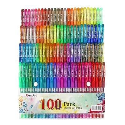 Aen Art 100 Color Glitter Gel Pens