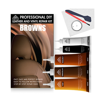 Fortivo Leather Repair Kit for Brown