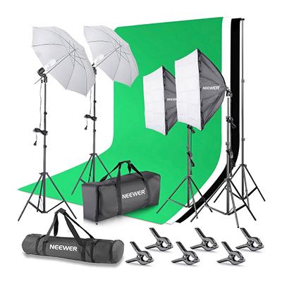 Neewer Small Green Screen Kit