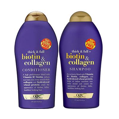 OGX Biotin and Collagen Shampoo plus Conditioner