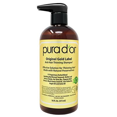 Pura D'or Gold Label Shampoo