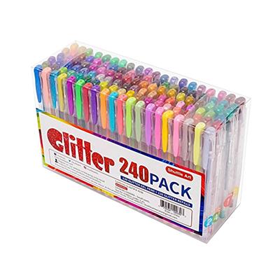 Shuttle Art 120 Glitter Gel Pens