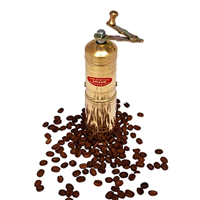 Sozen Handmade Manual Brass Coffee Mill
