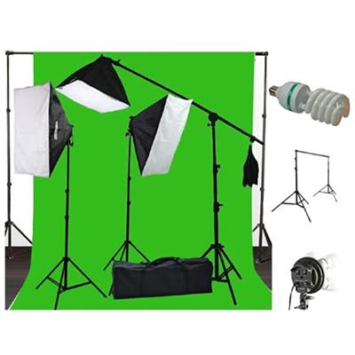 ePhoto Muslin Chromakey Background Kit